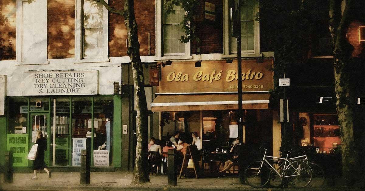 Địa điểm mở quán cafe