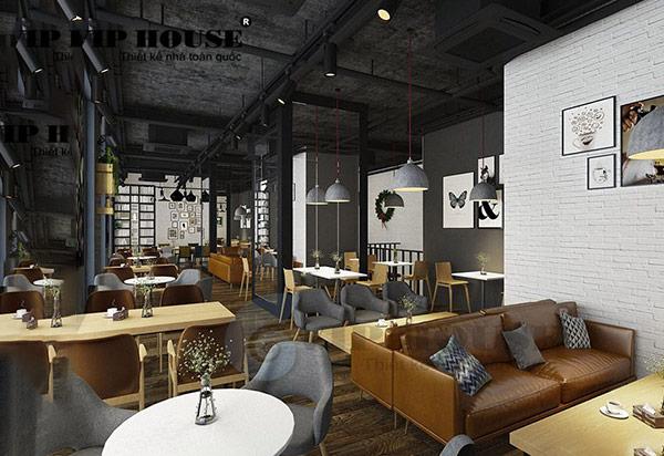 Cách bố trí nội thất quán cafe