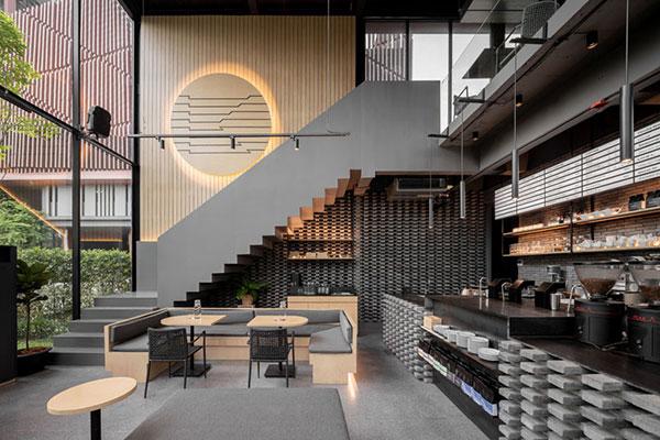 Thiết kế phong cách quán cafe
