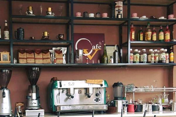 Vật liệu dụng cụ mở quán cafe