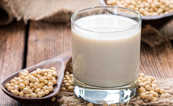 Sữa đậu nành nóng
